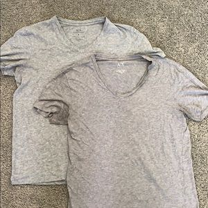 Men's Armani Exchange V Neck T's.